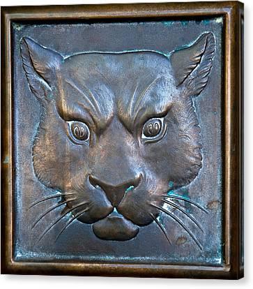 The Original Todd Hall Cougar Door Pulls - Washington State University Canvas Print