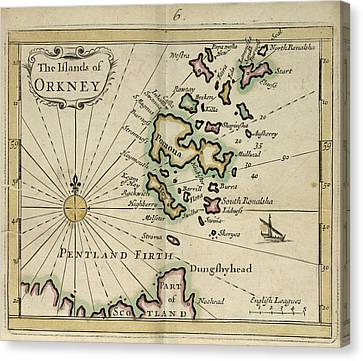 The Orkney Islands Canvas Print by British Library