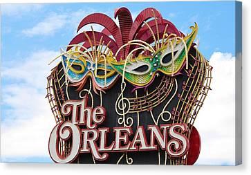 The Orleans Hotel Canvas Print by Cynthia Guinn