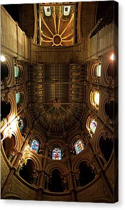 The Ornate Ceiling,st Finn Barres Canvas Print by Panoramic Images