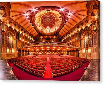 The Orpheum Theatre Canvas Print