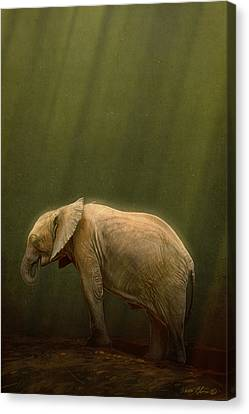 The Orphin Canvas Print by Aaron Blaise