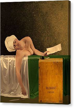 The Other Marat Canvas Print