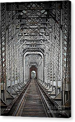 Canvas Print featuring the photograph The Other Side  by Barbara Chichester