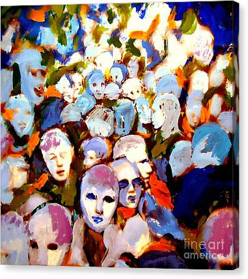 The Other Side Canvas Print by Helena Wierzbicki