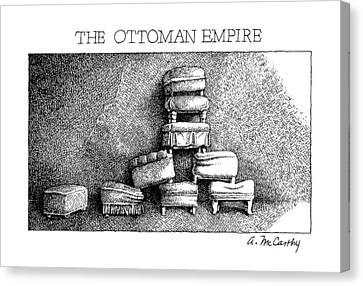 The Ottoman Empire Canvas Print by Ann McCarthy