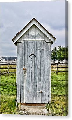 The Outhouse - 2 Canvas Print by Paul Ward