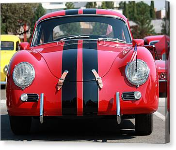 The Outlaw 356 Porsche Canvas Print by Rita Kay Adams