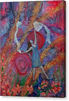 The Overcoming Worshipper Canvas Print by Cassandra Donnelly