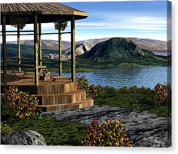 The Overlook Canvas Print by John Pangia