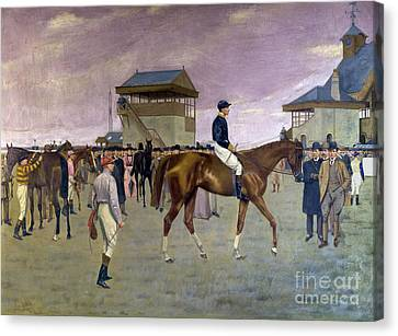 The Owner S Enclosure Newmarket Canvas Print by Isaac Cullen
