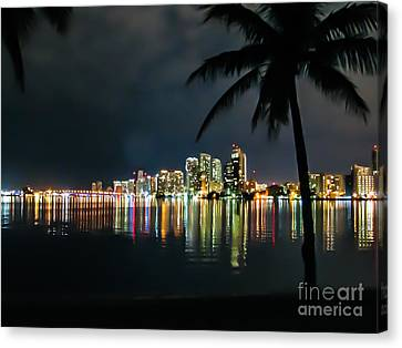 The Painted City Canvas Print by Rene Triay Photography