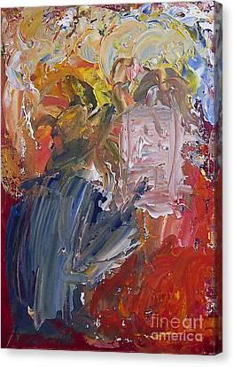 The Painter Canvas Print