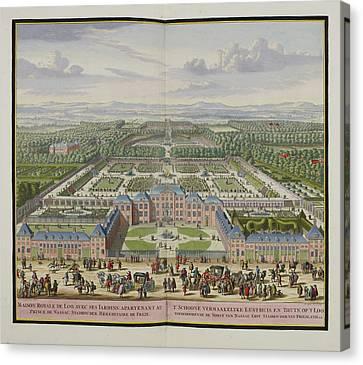 The Palace At Loo Canvas Print