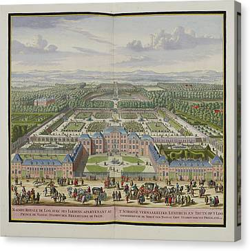 The Palace At Loo Canvas Print by British Library
