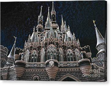 Canvas Print featuring the photograph The Palace by Robert Meanor