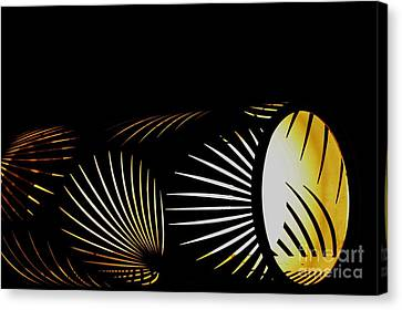 The Palm Frond Light Canvas Print by Darla Wood