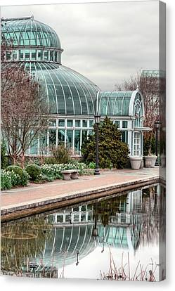 The Palm House Canvas Print by JC Findley