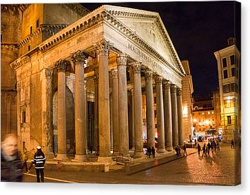 The Pantheon Canvas Print