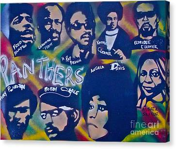 The Panthers Canvas Print by Tony B Conscious