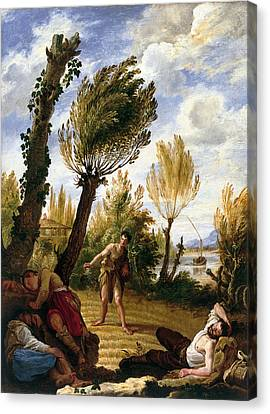 Parable Canvas Print - The Parable Of The Weeds by Domenico Fetti