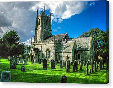 The Parish Church Of St. James Canvas Print by Ross Henton
