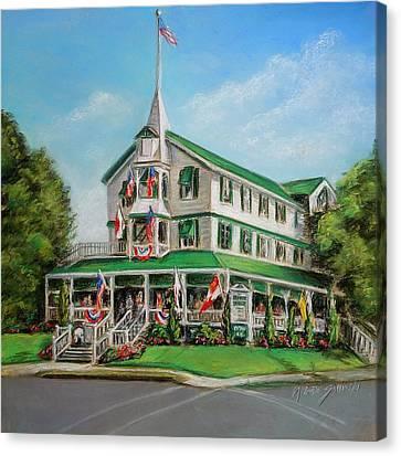 The Parker House Canvas Print