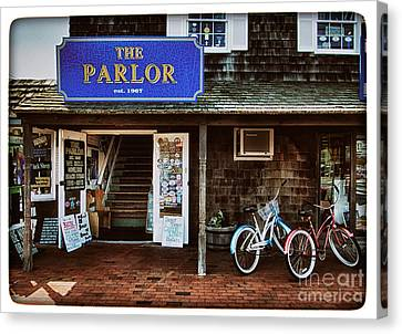 The Parlor On Lbi Canvas Print