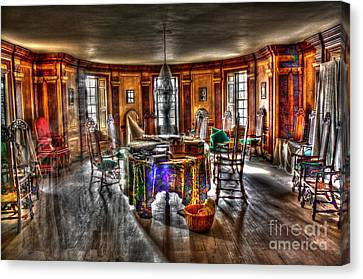 The Parlor Visit Canvas Print by Dan Stone