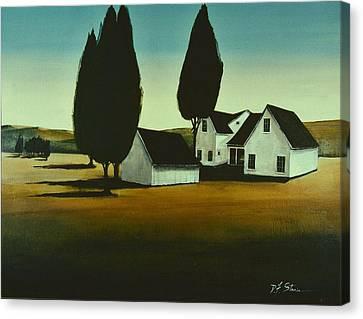 The Parson's House Canvas Print