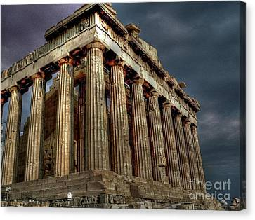 The Parthenon Canvas Print by David Bearden