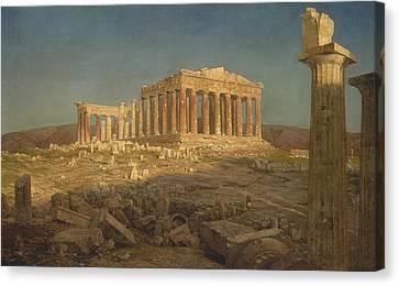 The Parthenon Canvas Print by Frederic Edwin Church