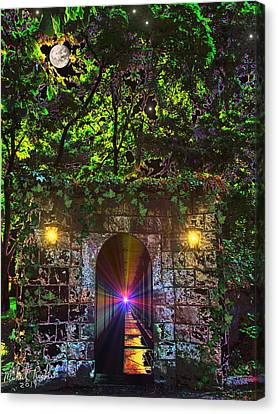 The Passageway  Canvas Print