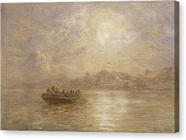 The Passing Of 1880 Canvas Print by Thomas Danby
