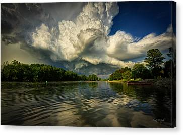 The Passing Storm Canvas Print by Everet Regal
