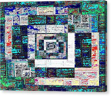 The Patchwork Canvas Print by Tim Allen