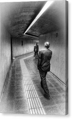 The Path Canvas Print by Robert FERD Frank