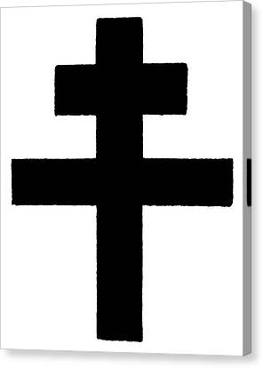 The Patriarchal Cross Canvas Print by Granger