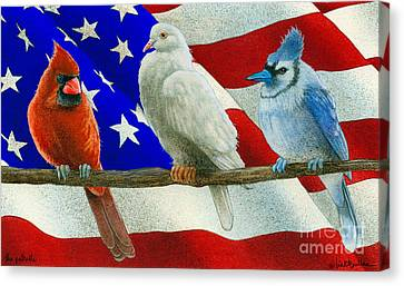 The Patriots... Canvas Print by Will Bullas