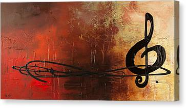 The Pause Canvas Print by Carmen Guedez