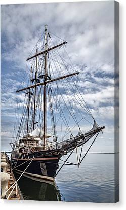 The Peacemaker Tall Ship Canvas Print by Dale Kincaid