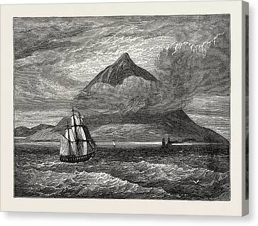 The Peak Of Teneriffe Canvas Print