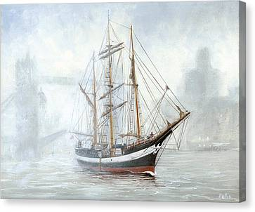The Pelican Of London Canvas Print