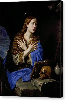 The Penitent Magdalene, 1657 Oil On Canvas Canvas Print