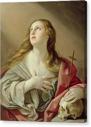The Penitent Magdalene Canvas Print by Guido Reni