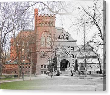 The Penn Library Canvas Print