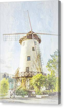 The Penny Royal Windmill Canvas Print by Elaine Teague