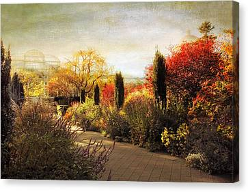 The Perennial Garden Canvas Print by Jessica Jenney