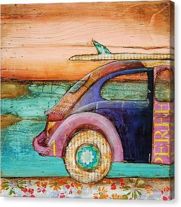Beetle Canvas Print - The Perfect Day by Danny Phillips