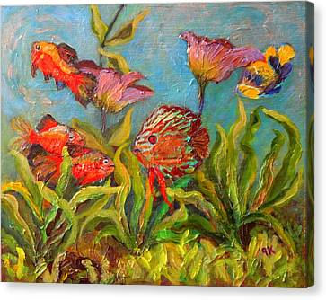 The Perfect Fish Tank Canvas Print
